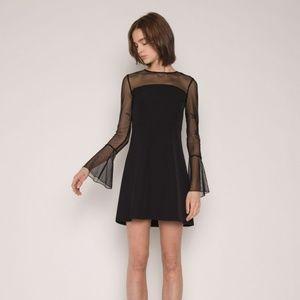 OAK + FORT DRESS 1672 Black